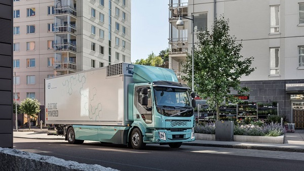 volvo fl electric photo volvo