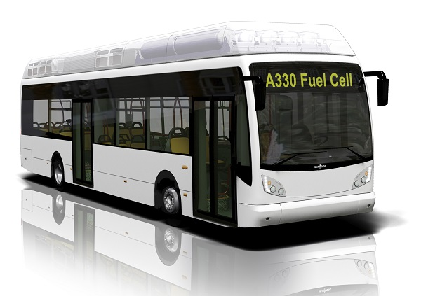 vanhool fuel cell bus design